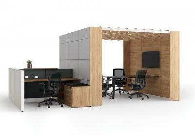 Modern Office Furniture Layout Axel_poste1